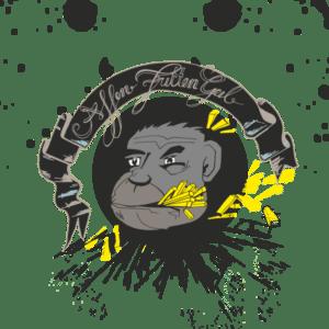 Affen Fritten Geil